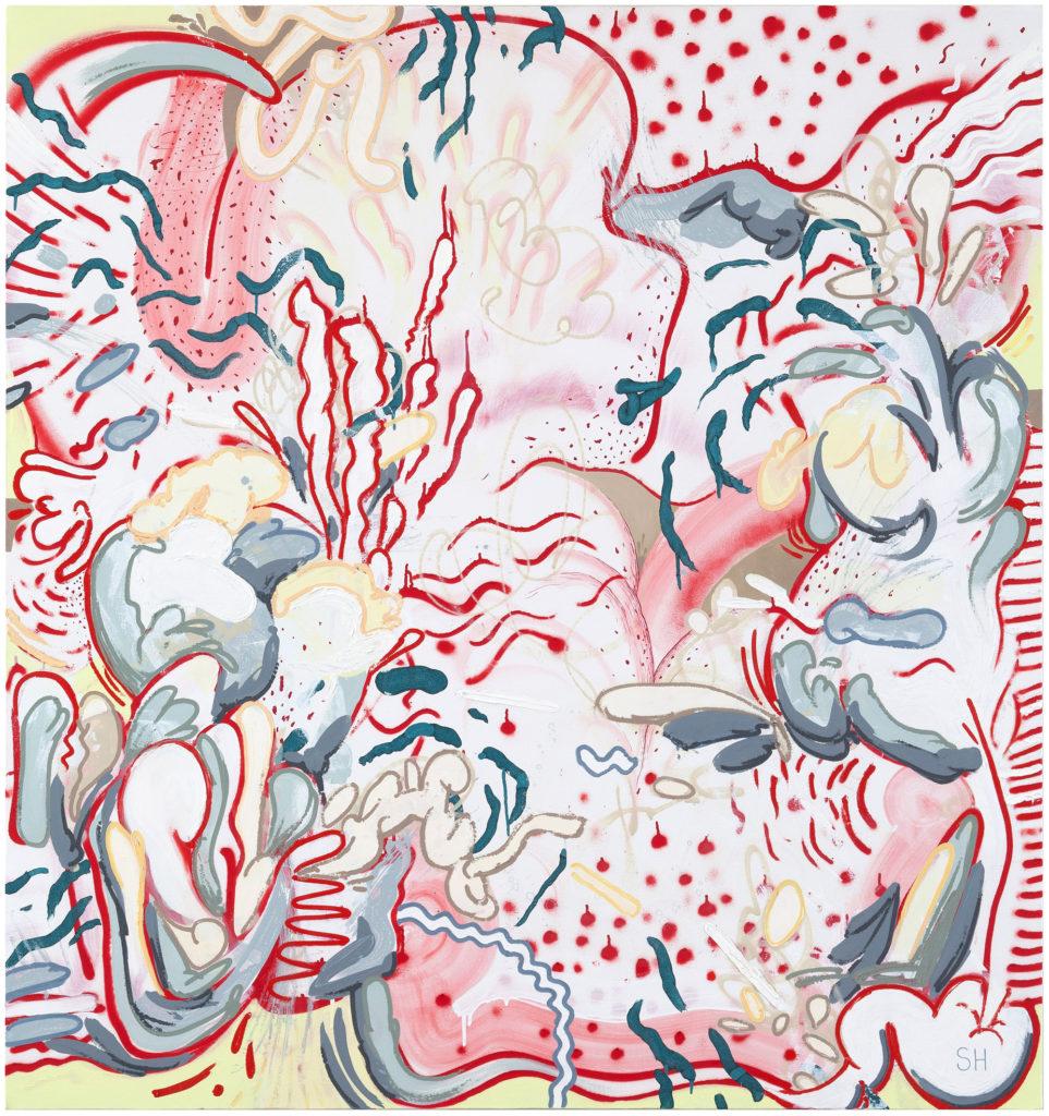 Sami-Havia,-Soft-Core,-2014,-akryyli-ja-muste-kankaalle,-160-x-150cm-(1)